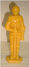 Beeswax Knight Candle