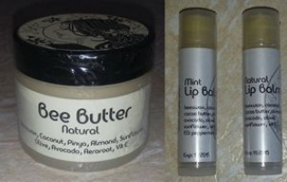 Beeswax Lip Balms & Bee Butter