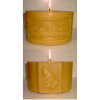 Beeswax Lord's Supper Pillar